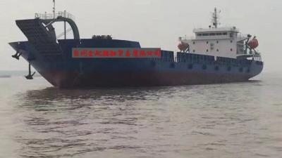 出售8100吨甲板驳货船