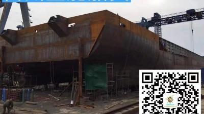 出售自建5100吨后驾驶甲板驳船