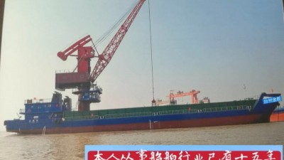 出售2016年11月2341吨甲板货船(配吊机)