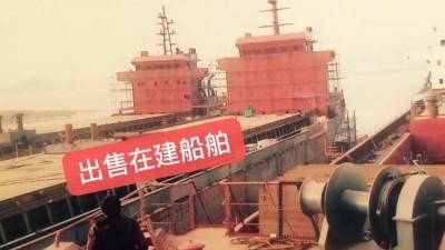 出售证书约8800吨自卸砂船(证书可带自吸)